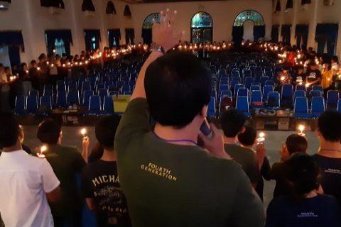 Api Kebangunan Sukoharjo Menyala di Natal Pemuda